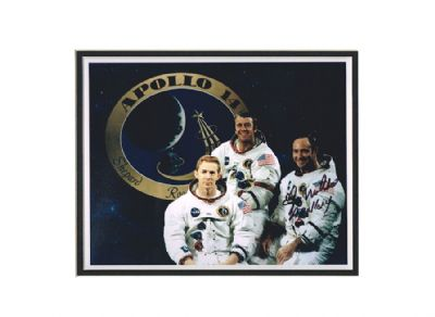 Ed Mitchell Autograph Signed Photo - Apollo 14